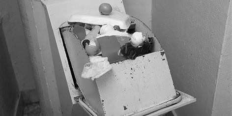 rubbish chute web