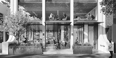 pallas house lobby building website image