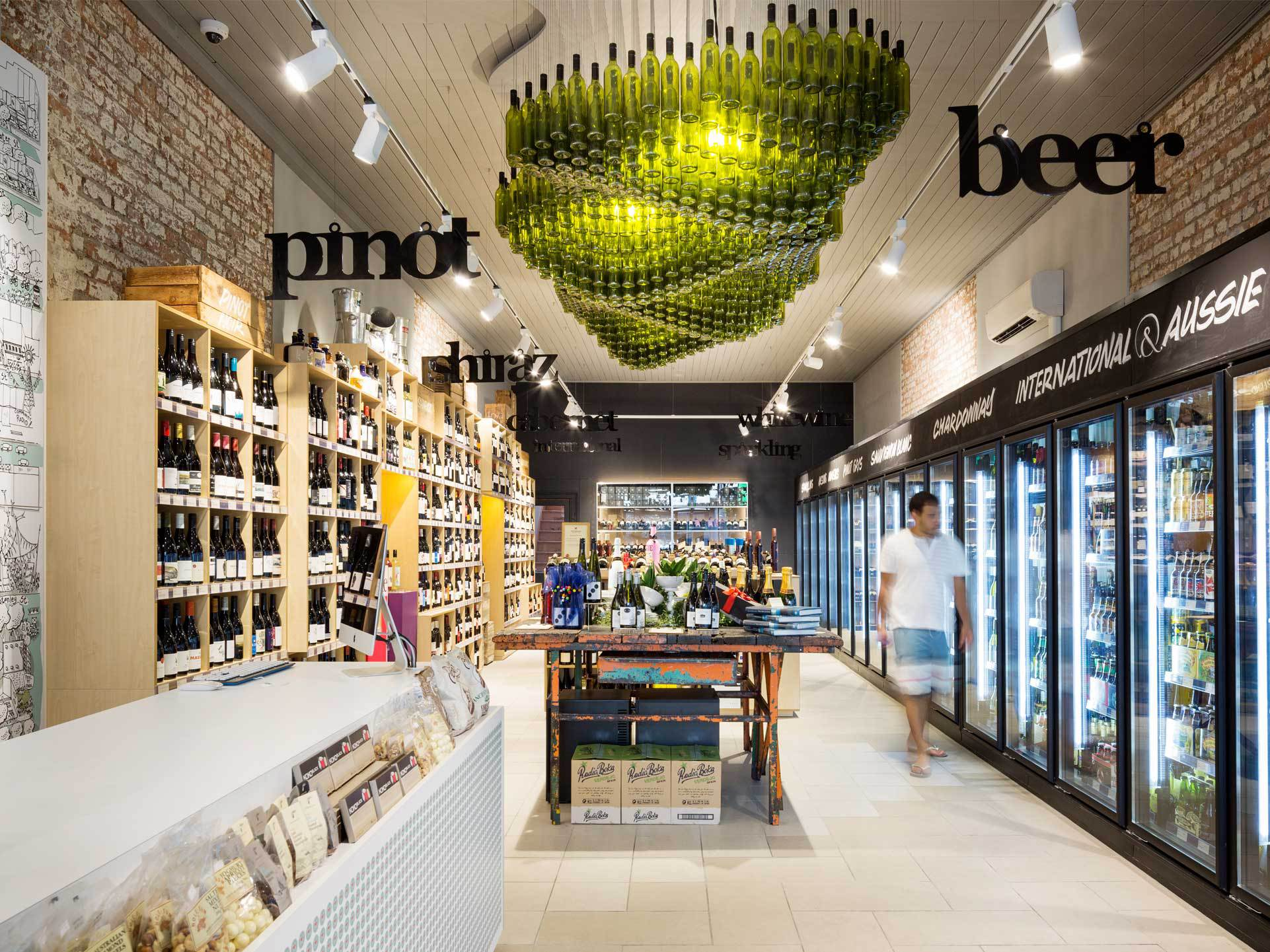 Wine republic fitzroy for Design shop de