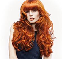 hair extensions blonde red hair