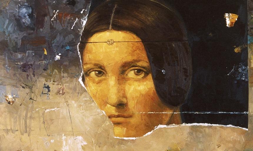 segment 150x150cm oil on canvas 2007