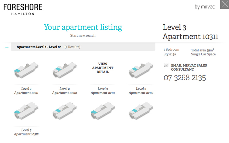 mirvac apartment finder apartments2