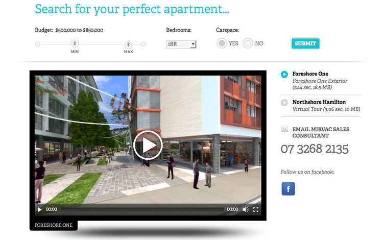 mirvac apartment finder search