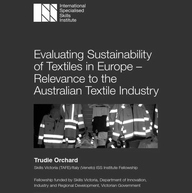 iss evaluating sustainability textiles europe